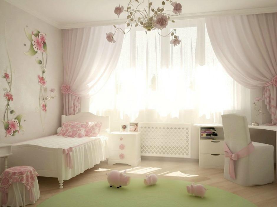 Το απόλυτα κοριτσίστικο δωμάτιο