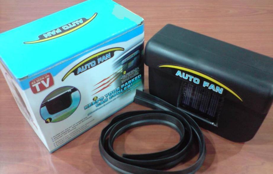 Ο ηλεκτρονικός ανεμιστήρας αυτοκινήτου τοποθετείται εύκολα και λειτουργεί χωρίς μπαταρίες.