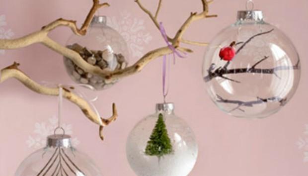 DIY Γυάλινα Στολίδια για το Χριστουγεννιάτικο Δέντρο