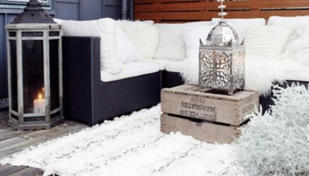 Να τι Μπορείτε να Κάνετε με το Μπαλκόνι σας τους Χειμερινούς Μήνες
