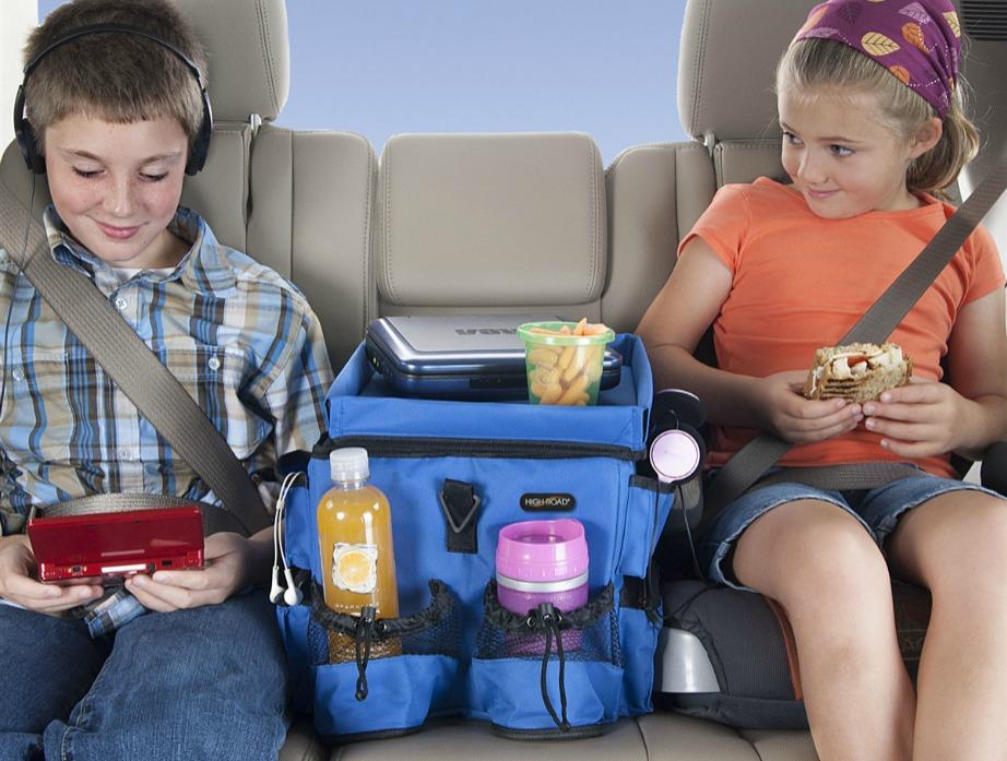 Βάλτε ένα διαχωριστικό στα πίσω καθίσματα.