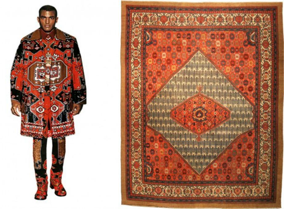 Ο οίκος Givenchy επενδύει σε πιο γκόθικ χρώματα και σχέδια.