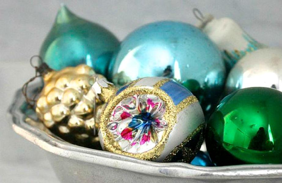 Αντί για φρούτα, βάλτε στα μπολ σας χριστουγεννιάτικα στολίδια!