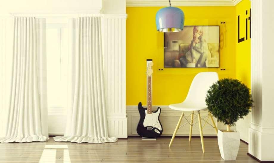 Το κίτρινο χαρίζει σε κάθε χώρο παιχνιδιάρικο ύφος και αίσθηση οικειότητας.