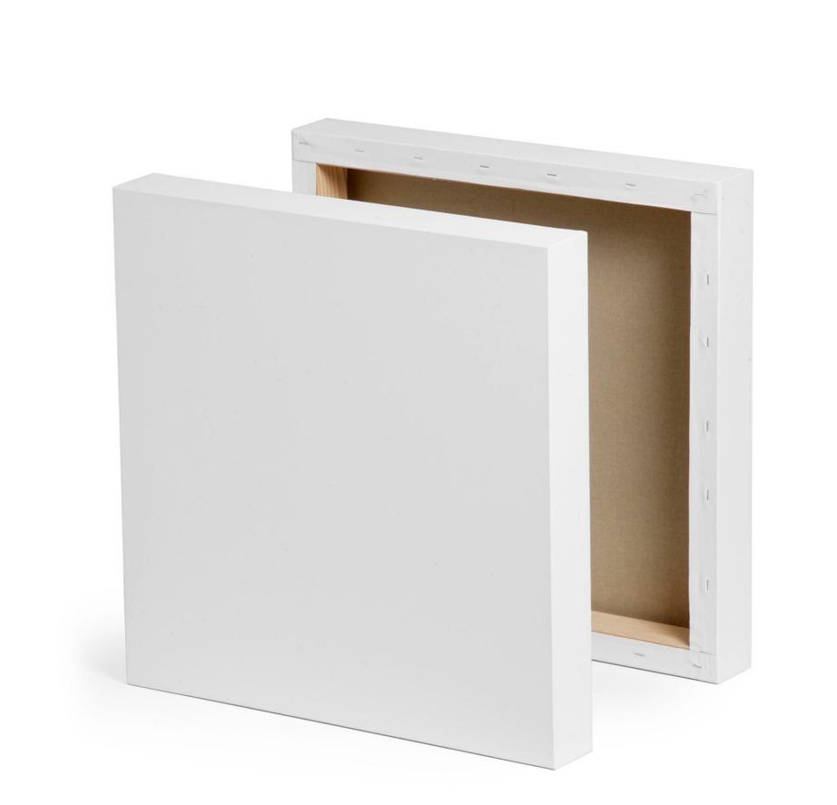 Για να φτιάξετε τους πίνακες θα χρειαστείτε αρχικά οπωσδήποτε 2 καμβά.