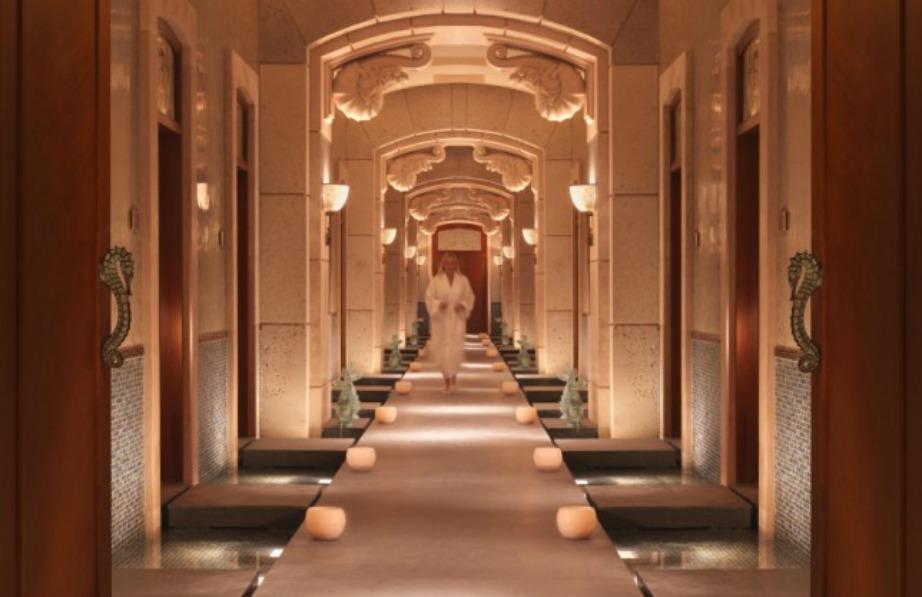 Διάδρομος στο ξενοδοχείο Atlantis