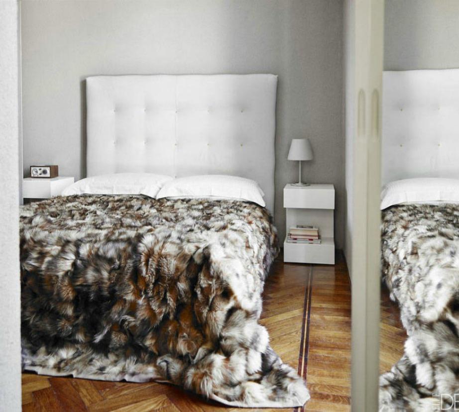 Με ένα ιδιαίτερο σκέπασμα το δωμάτιο μπορεί εύκολα να μεταμορφωθεί.