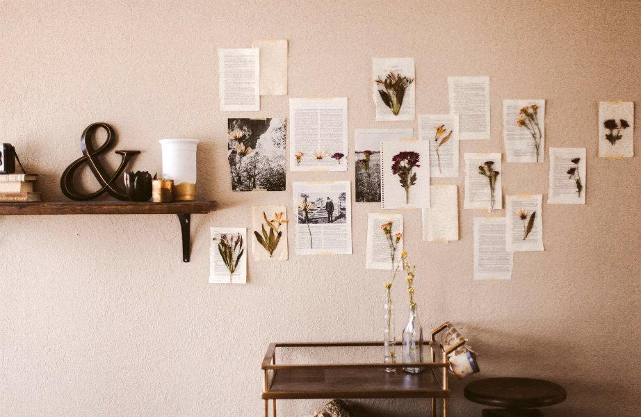 Ακόμα και οι σελίδες από τα αγαπημένα σας βιβλία έχουν θέση στο (ευτυχισμένο) σπίτι σας!