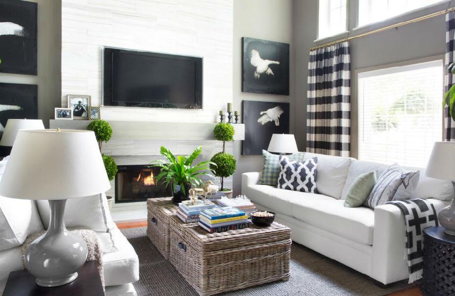 Το καρό χαρίζει το ρουστίκ, ζεστό και χειμωνιάτικο χαρακτήρα του στο σπίτι σας άμεσα πριν τις γιορτές.