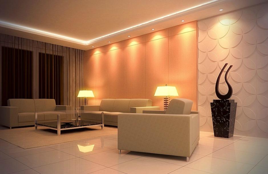 Με τον κατάλληλο φωτισμό ένα σπίτι δείχνει πολύ πιο πολυτελές