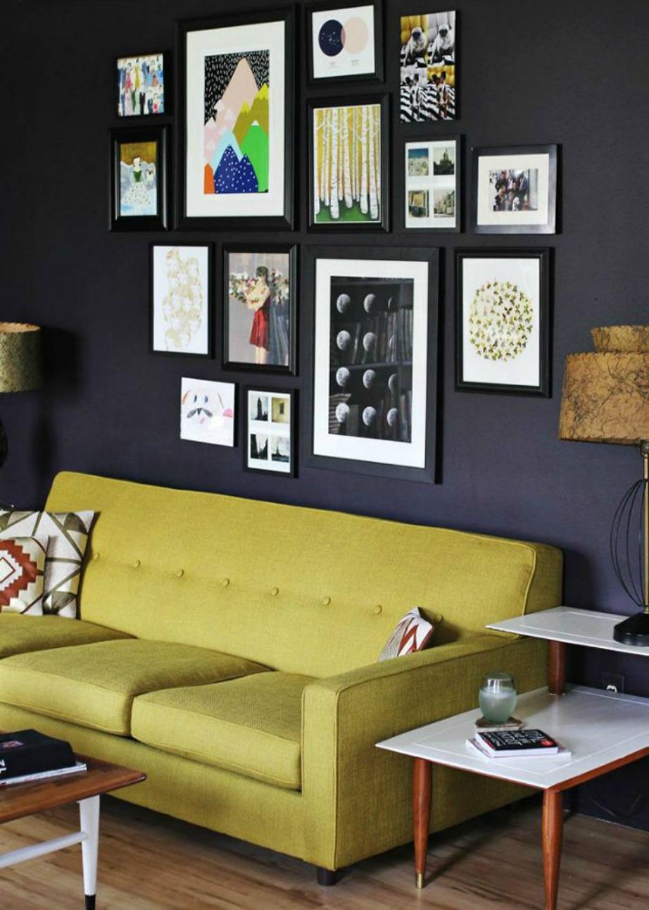 Βάλτε χρώμα στον καναπέ σας!