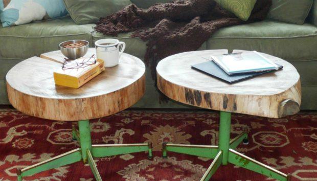 8 DIY Έπιπλα και Διακοσμητικά από Κούτσουρα!