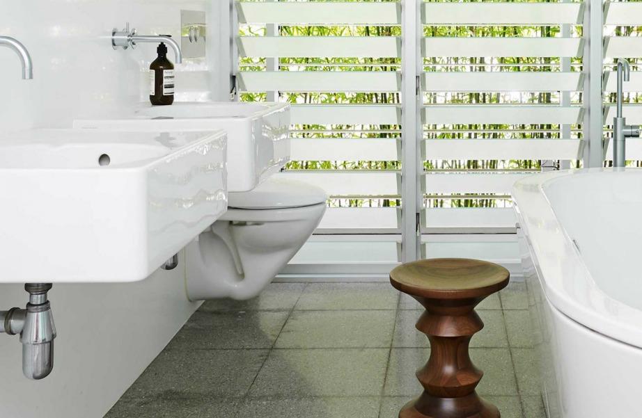 Οι γρίλιες ταιριάζουν πολύ στα μπάνια.