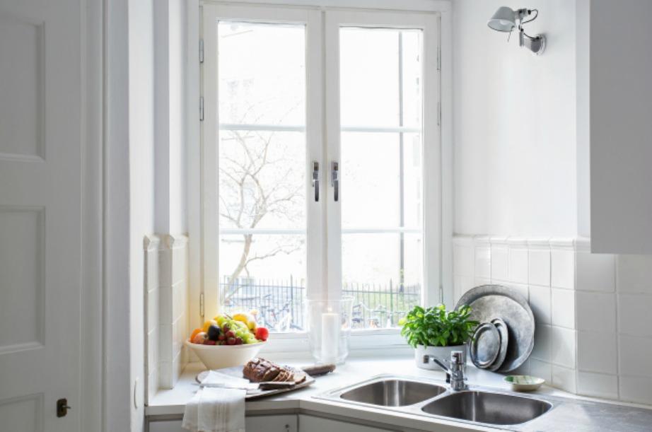 Γεμίστε διάφορες γωνιές της κουζίνας σας με πράσινες πινελιές.