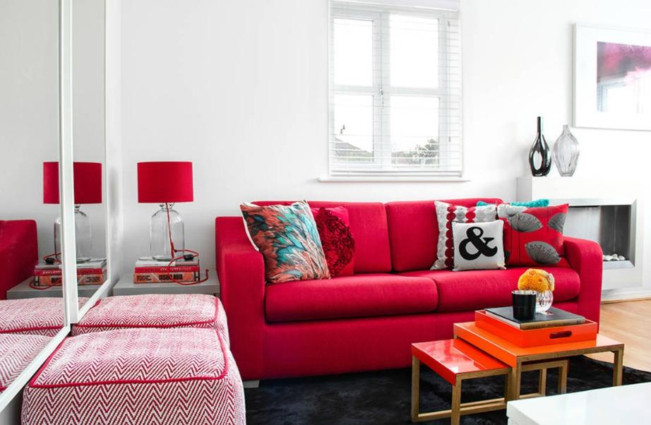 Το χρώμα δίνει ζωντάνια σε έναν χώρο και θετική ενέργεια.