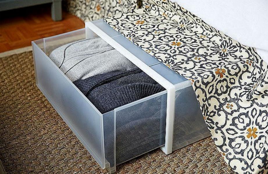 Τι κρύβει το κουτί κάτω από το κρεβάτι σας; Κανένας καλεσμένος δε θα ξέρει!