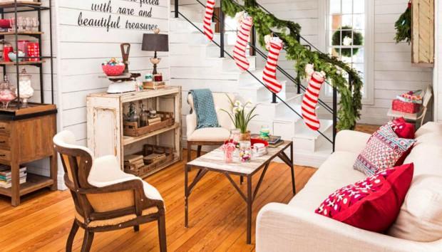 6 Ιδέες για να φέρετε τα Χριστούγεννα στο Μικρό Σπίτι σας!