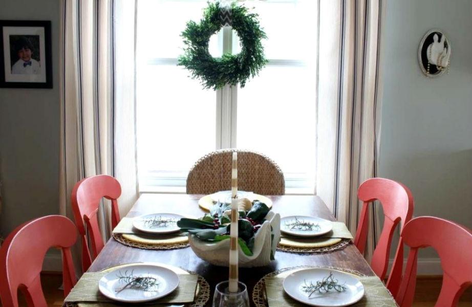 Αν έχετε μικρό σπίτι, τα παράθυρα είναι το ιδανικό σημείο... στολισμού!