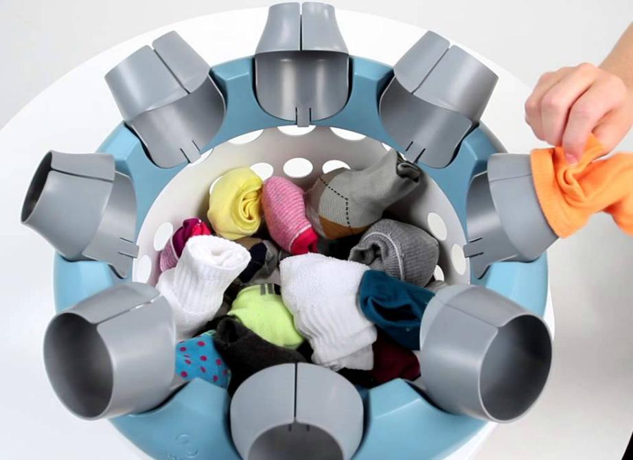 Η SockSync θα σας λύσει τα χέρια στην αναζήτηση του κάθε ζευγαριού κάλτσας.