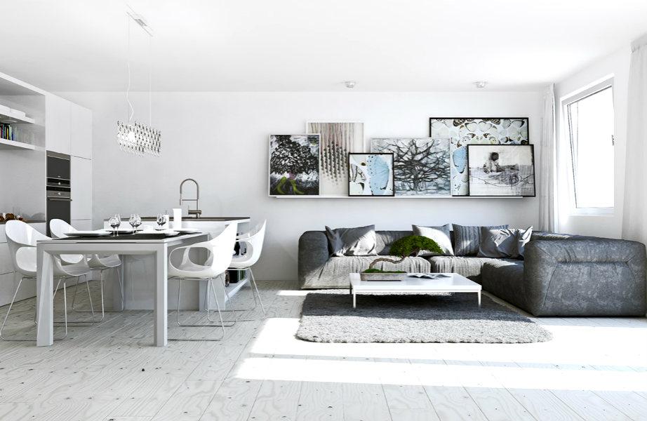 Πιάστε το ξεσκονόπανο: ένας τακτοποιημένος και καθαρός χώρος μοιάζει πάντα πιο μεγάλος.