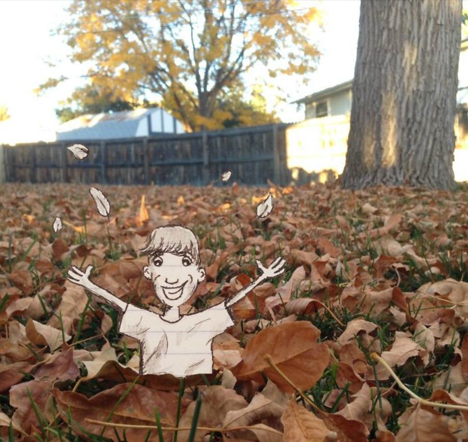 Μία βουτιά μέσα στα φύλλα του Φθινοπώρου