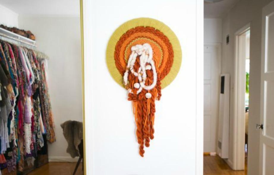 Χίπικο διακοσμητικό φτιαγμένο με μαλλί