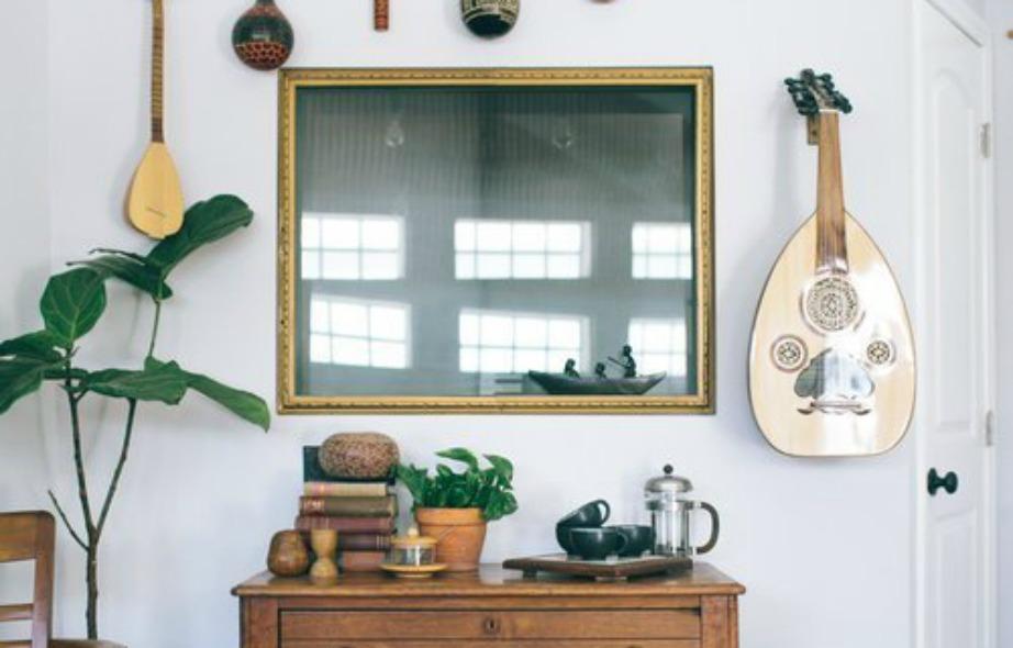 Τα όργανα μουσικής είναι προτιμότερο να μην μ παίνουν στους τοίχους σας