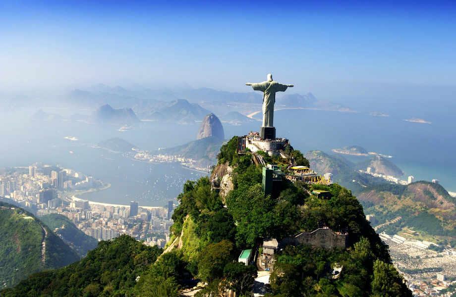 Corcovado, Βραζιλία