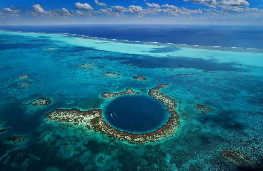 Great Blue Hole, Μπελίζ