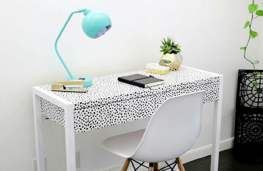 Ταπετσαρία και... το γραφείο σας μπορεί να γίνει ξεχωριστό και ιδιαίτερο.