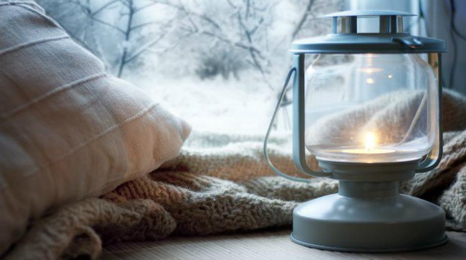 Ένα καθαρό σπίτι το απολαμβάνετε καλύτερα όταν έχει έξω κρύο.