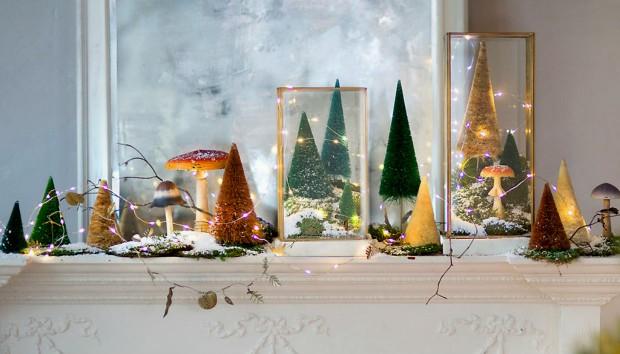 Χριστουγεννιάτικα Φωτάκια: 12 Πρωτότυποι Τρόποι Να τα Διακοσμήσετε!