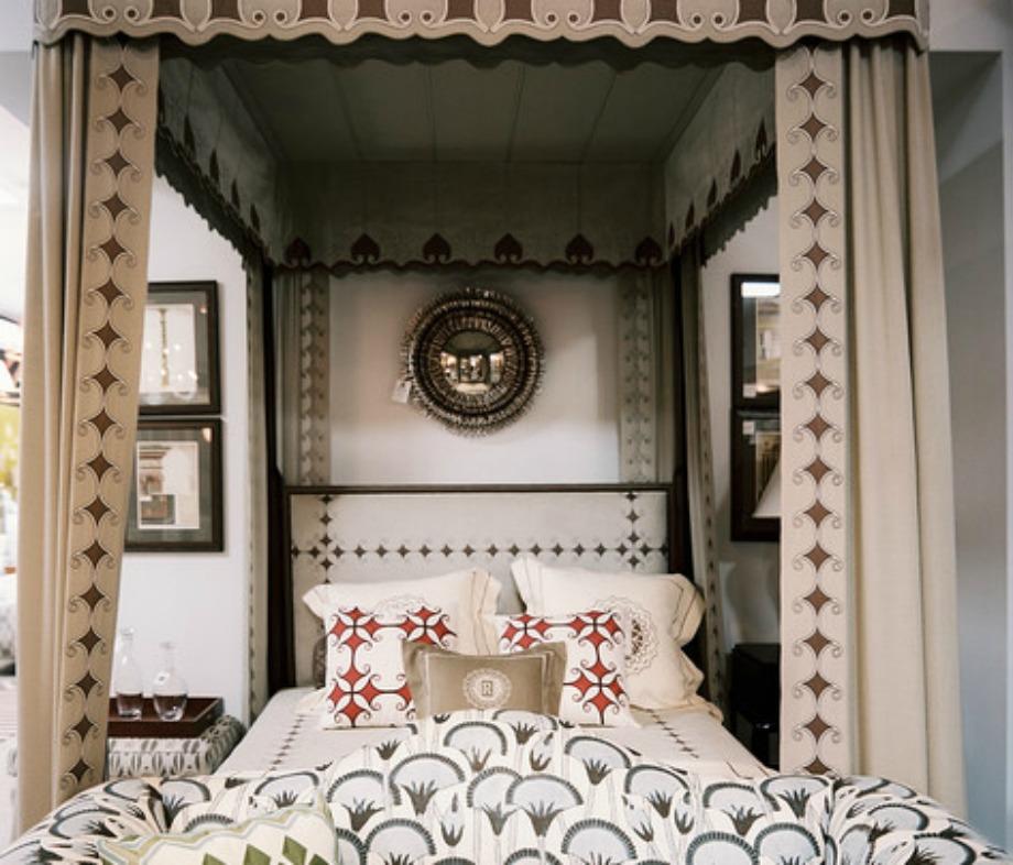 Ο θόλος προσθέτει ρομαντική πινελιά σε ένα υπνοδωμάτιο