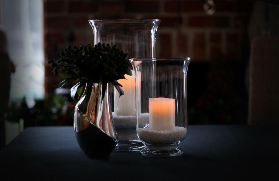 """Τα κεριά θα δώσουν ρομαντικό τόνο στο κοινό σας """"καταφύγιο""""."""