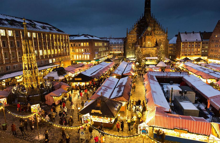 Η χριστουγεννιάτικη αγορά της Νυρεμβέργης μοιάζει βγαλμένη από τα παιδικά παραμύθια!