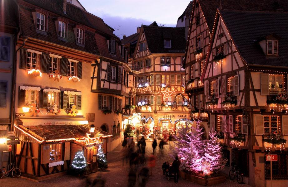 Το μαγευτικό Χριστουγεννιάτικο Στρασβούργο.