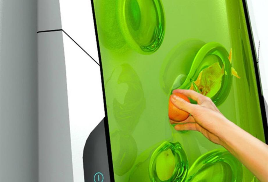 Τα φρούτα, τα λαχανικά και τα τρόφιμα μπαίνουν μέσα στο gel και διατηρούνται κρύα μέχρι να τα χρειαστείτε.