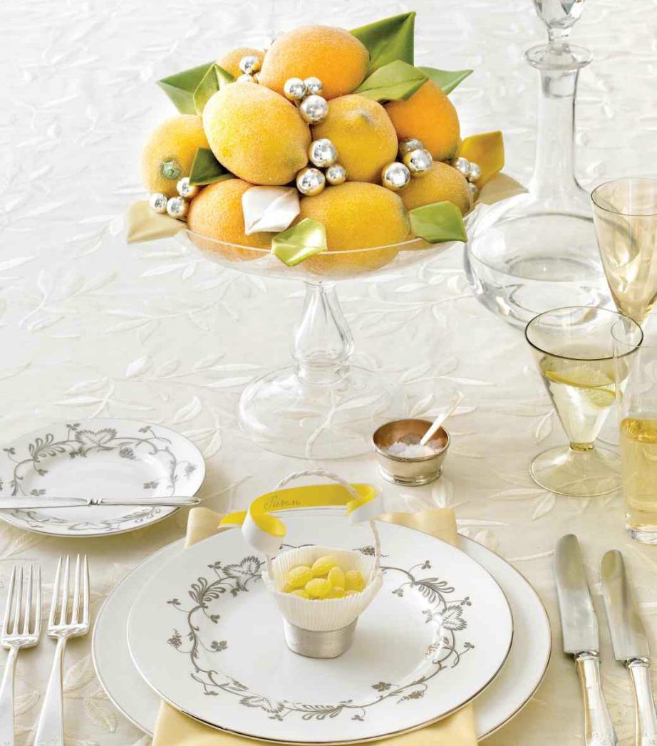 Δείτε τι ωραίο που φαίνεται αυτό το μπολ με τα λεμόνια. Ωραίο και απλούστατο!