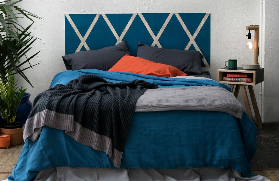 Αντιμετωπίστε το κεφαλάρι του κρεβατιού σας σαν λευκό καμβά!