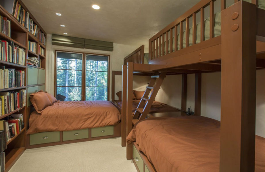 Ένα υπνοδωμάτιο για εκείνους που τους αρέσει να διαβάζουν!