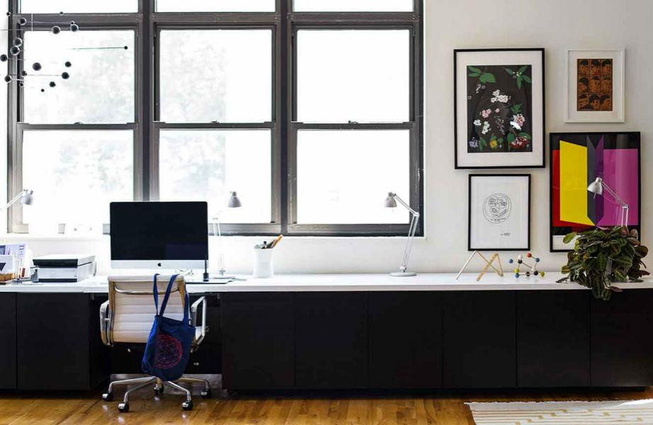 """Πείτε """"ναι"""" στο φυσικό φως για το γραφείο σας για πιο αποδοτικές ώρες εργασίας."""