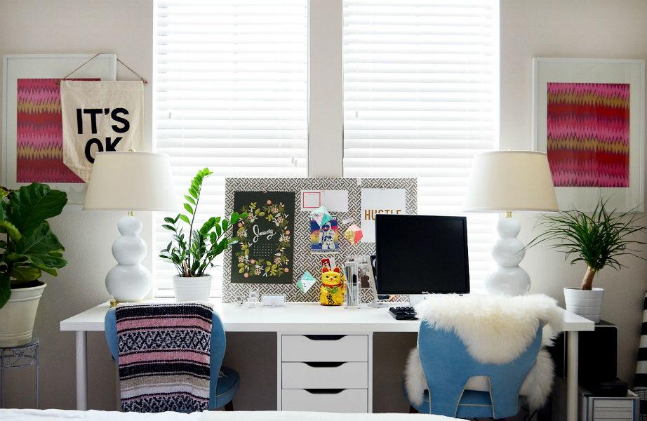 Δε χρειάζεται να μετατρέψετε το γραφείο σας σε φυτώριο, αλλά ένα φυτό επιβάλλεται αν θέλετε να δουλεύετε με περισσότερη ηρεμία!
