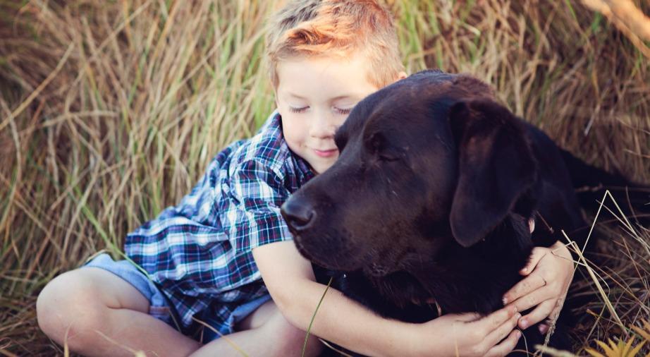 Όταν αγκαλιάζουμε τα σκυλάκια μας δυναμώνουμε το ανοσοποιητικό μας σύστημα.