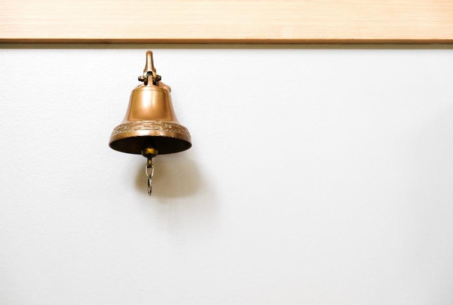 Τα καμπανάκια, σύμφωνα με το φενγκ σούι, είναι ιδανικά για τη διακόσμηση του τοίχου ανεξαρτήτως εποχής.