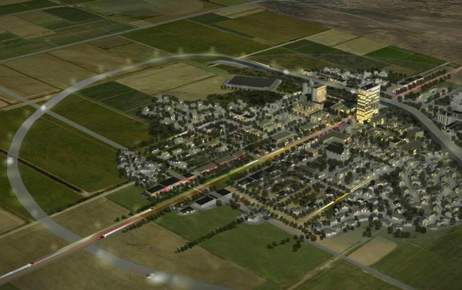 Πρόκειται για μια πόλη στην οποία κανονικά θα χώραγαν 35.000 κάτοικοι.