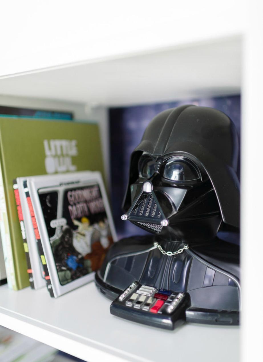 Το τηλέφωνο του Darth Vader που αποτέλεσε τη βασική έμπνευση.