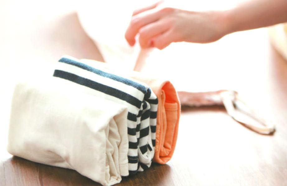 Τα σωστά διπλωμένα ρούχα πρέπει να στέκονται όρθια!