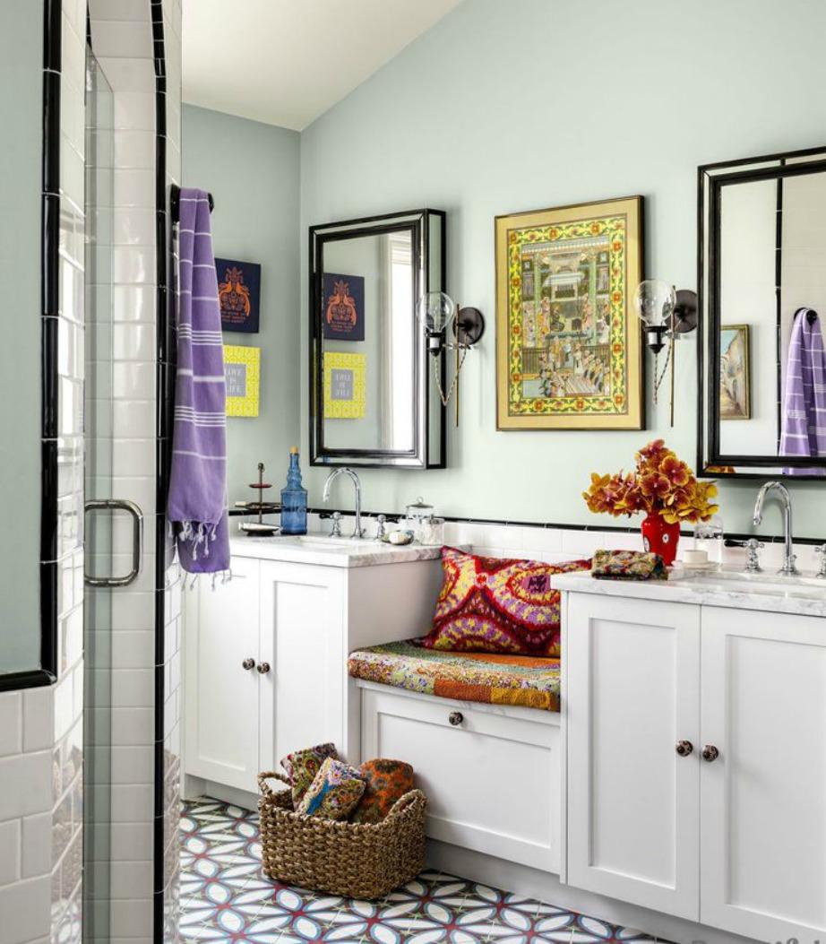 Βάψτε τους τοίχους σε παλ αποχρώσεις και διακοσμήστε σε bohemian style.
