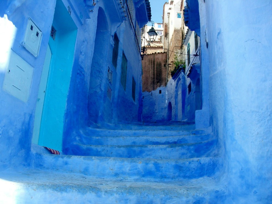 Το μπλε χρώμα συμβολίζει τα Θεία στον Ιουδαϊσμό.
