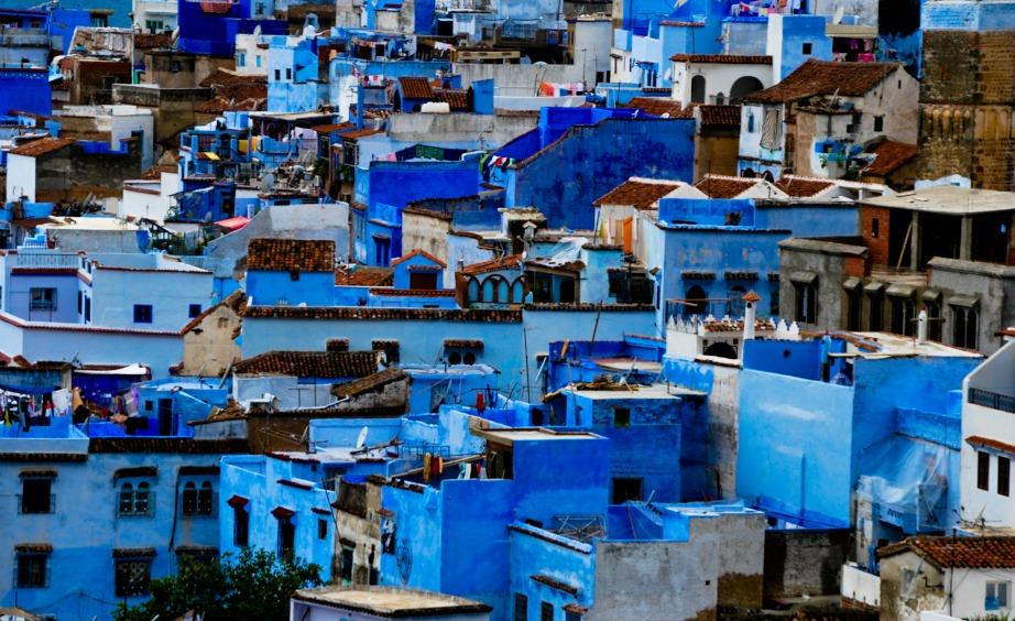 Αυτή είναι η πανέμορφη μπλε πόλη που βρίσκεται στο Μαρόκο.